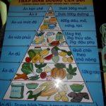 Ernährungspyramide in Vietnam