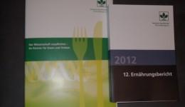 Ernährungsbericht 2012: Krebs vorbeugen durch Ernährung