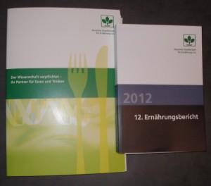 Ernährungsbericht 2012