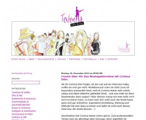Interview Corinna Dürr bei Texterella