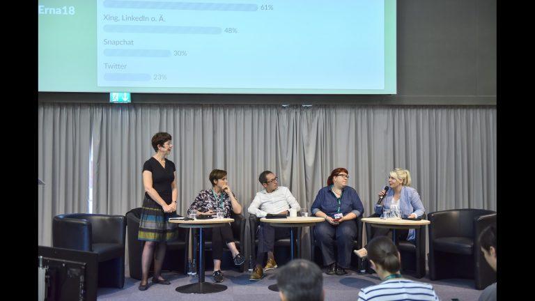 Social Media Diskussion beim Kongress Ernährung 2018