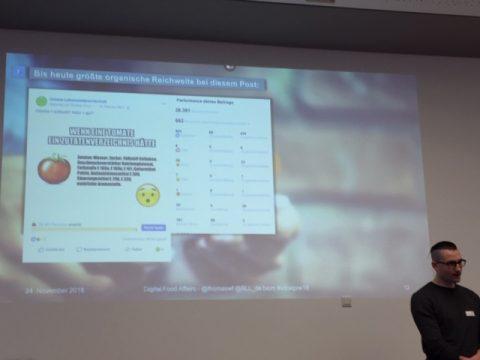 Thomas Fiege bei Oecotrophologen in Sozialen Medien
